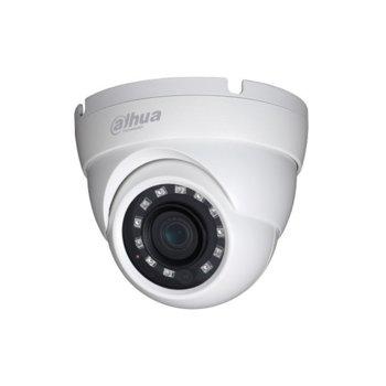 HDCVI камера Dahua HAC-HDW1230M, куполна камера, 2MPix(1920×1080@25fps), 2.8mm/6mm, IR осветеност (до 30 m), външна IP67 image