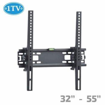 """Стойка за телевизор 1TV STTV 1TV-220, за стена, до 32-55"""", VESA до 400x400, до 25kg image"""