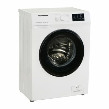 Пералня Heinner Slim HWM-H6010E++, клас E, 6 кг. капацитет, 1000 оборота в минута, свободностояща, 60 cm, бяла image