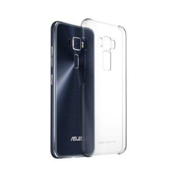 Калъф Asus ZenFone 3, страничен протектор с гръб, пластмаса, Asus Clear case, прозрачен image