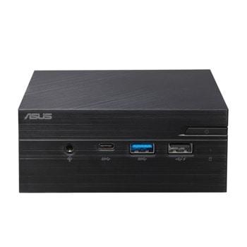 """Мини компютър Barebone Asus PN40-BBP559MV, четириядрен Gemini Lake Intel Pentium N5000 1.1/2.7 GHz, 2x DDR4 SO-DIMM, 1x 2.5"""" HDD/SSD, LAN, Wi-Fi, Bluetooth, 3x USB 3.0  image"""