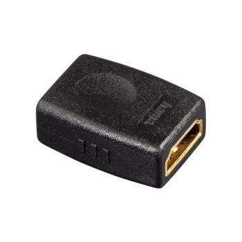 Преходник Hama 39860, от HDMI(ж) към HDMI(ж), позлатени конектори, черен image