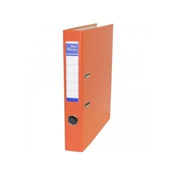 Класьор Rexon, за документи с формат до A4, дебелина 5см, оранжев image