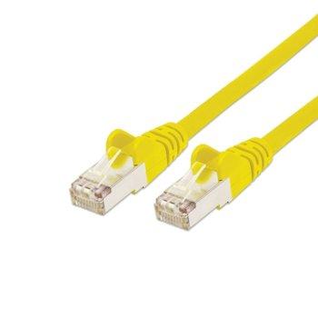 Пач кабел Cat.5e 0.5m FTP жълт IC331814 product