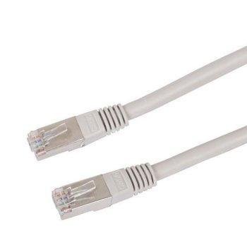 Пач кабел VCom, S/FTP, Cat 6, екраниран, 1m, сив image