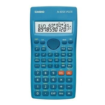 Калкулатор Casio FX-220 Plus, научен, изчисления на фракциите, процентни изчисления, тригонометрични и инверсни тригонометрични функции, общи и естествени логаритми, инженерна нотация, син image