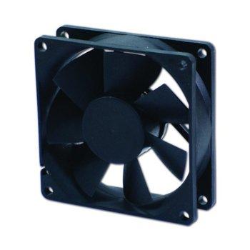 Вентилатор 80мм, EverCool EC8025LL12BA, 2Ball 1400rpm image