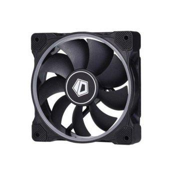 Вентилатор 120mm ID-Cooling ZF-12025-RGB, 3-pin, 2000 RPM, RGB подсветка image