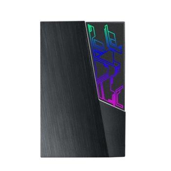 Твърд диск 2TB, Asus EHD-A2T, черен, външен, USB 3.1, подсветка image