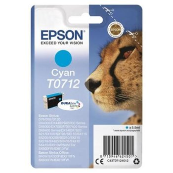 Epson T0712 (C13T07124012) Cyan product