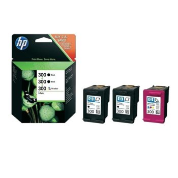 HP 300 (SD518AE) 3 Pack product