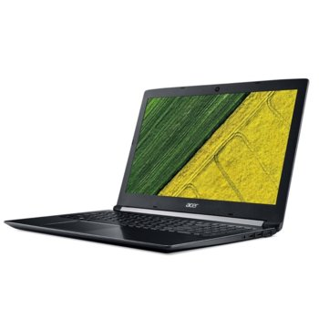 "Лаптоп Acer Aspire 5 A517-51G-31BZ (NX.H9GEX.00D), двуядрен Kaby Lake Intel Core i5-7200U 2.5/3.1 GHz, 17.3"" (43.94 cm) Full HD LED IPS Display & GF MX130 2GB, (HDMI), 4GB DDR4, 256GB SSD, 1x USB 3.1, No OS image"