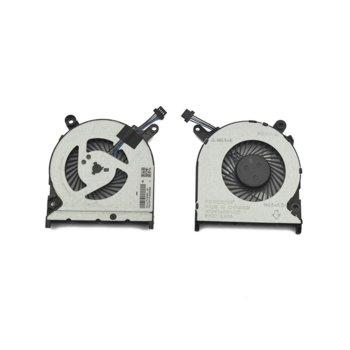 Вентилатор за HP 240 G6, 245 G6, 246 G6, 14-BS, 14-BW, DC 5V, 0.5A, 4 pin image