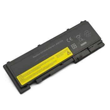 Батерия (заместител) за лаптоп Lenovo, съвместима с модели ThinkPad T420s T420si T430s T430si, 4 cell, 14.8V, 3900mAh image