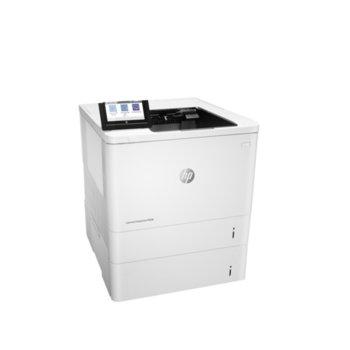 Лазерен принтер HP LaserJet Enterprise M608x, монохромен, 1200 x 1200 dpi, 61 стр/мин, LAN1000, Wi-Fi, USB, A4 image