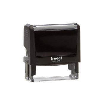 Автоматичен печат Trodat 4915 черен, 25/70 mm, правоъгълен image