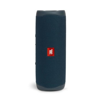 Тонколона JBL Flip 5 BLU, 1.0, 20W RMS, USB, Bluetooth, BLUE, влагоустойчива (IPX7) image