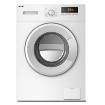 Перална машина Arielli AWM-10102A, клас A+++, 6 кг. капацитет, 1000 оборота, 16 програми, свободностояща, 59.5cm. ширина, бяла image