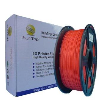 Консуматив за 3D принтер, PLA, 1.75mm, червен, 1kg image