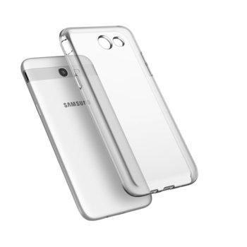Калъф за Samsung Galaxy J3 Emerge, силиконов протектор, TPU, Ultra Slim Case, прозрачен, дебелина 0.3mm image