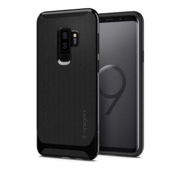 Калъф за Samsung Galaxy S9 Plus, Spigen Neo Hybrid Case, хибриден кейс с висока степен на защита, черен  image