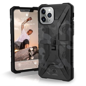 Калъф за Apple iPhone 11 Pro, хибриден, Urban Armor Pathfinder 111707114061, удароустойчив, сив камуфлаж image
