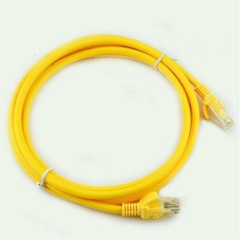 VCom UTP Cat 5e 10m NP511B-YELLOW-10m product