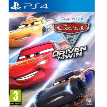Игра за конзола Cars 3: Driven to Win, за PS4 image