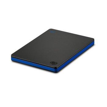 """Твърд диск 2TB Seagate Game Drive (черен), външен, 2.5"""" (6.35 cm), USB 3.0, предназначен за PlayStation 4 image"""