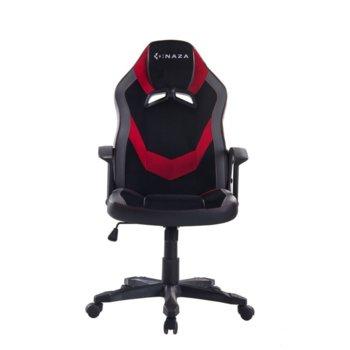 Геймърски стол Inaza Defender DEF01-BR, газов амортисьор клас 3, до 130 кг. черен image