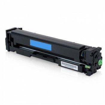 Тонер касета за HP Colour LaserJet Pro M252dw/Pro M252n/Pro MFP M274n/Pro MFP M277dw/Pro MFP M277n, Cyan - CF401X - 27098 - Неоригинален, Заб.: 2300 k  image