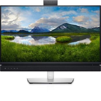 """Монитор Dell C2422HE, 23.8"""" (60.45 cm) IPS панел, Full HD, 5ms, 250cd/m2, DisplayPort, HDMI, USB, RJ-45, камера image"""