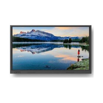 "Интерактивен дисплей Newline TruTouch TT-8618RS, 86"" (218.44 cm), Ultra HD 4K, HDMI, DispleyPort, VGA, USB, RJ-45 image"