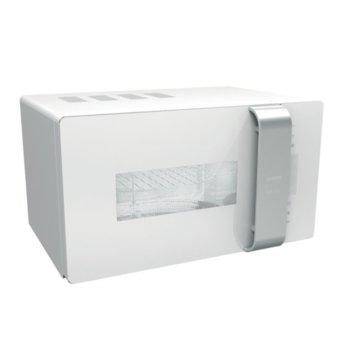 Микровълнова фурна Gorenje MO23ORAW, с грил, електронно управление, 900 W, 23 л. обем, 5 степени на мощност, бяла image