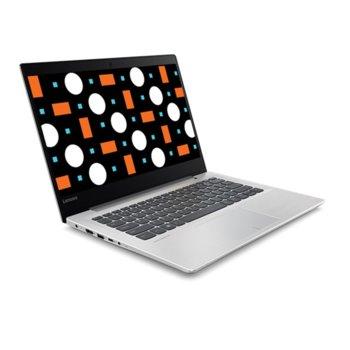 "Лаптоп Lenovo IdeaPad 320S-15ISK(80Y9000JBM)(сив), двуядрен Skylake Intel Core i3-6006U 2.0GHz, 15.6"" (39.62 cm) HD дусплей & Nvidia GеForce 920MX 2GB(HDMI), 4GB DDR4, 1TB HDD, 1x USB Type C, Free DOS, 1.9kg image"