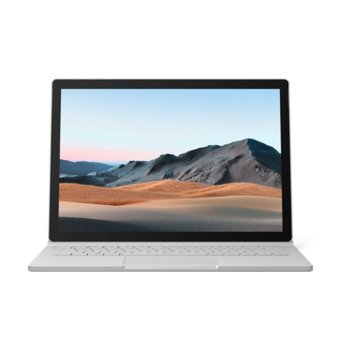 "Хибриден лаптоп Microsoft Surface Book 3 (SLK-00009)(сребрист), четириядрен Ice Lake Intel Core i7-1065G7 1.3/3.9 GHz, 13.5"" (34.29 cm) PixelSense Touchscreen Display & GF GTX 1650 4GB, (USB-C), 16GB, 512GB SSD, Windows 10 Home image"