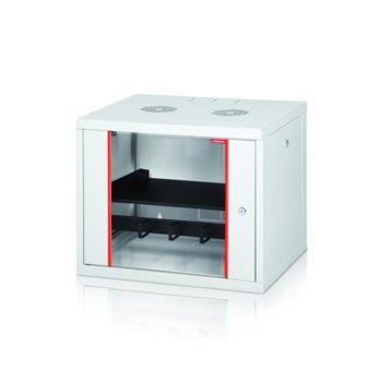 """Комуникационен шкаф Formrack GLD-7U450/ALFA-7U450, 19"""", 7U, 555 x 450 mm, бял image"""