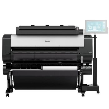 """Плотер Canon imagePROGRAF TX-4000 в комплект със стенд + MFP Scanner T36, клас 5-цветен 44"""" (1118 mm), 2400x1200 dpi, 2GB RAM, 500GB твърд диск, Wi-Fi, LAN 10/100/1000Base-TX, USB, A0 image"""