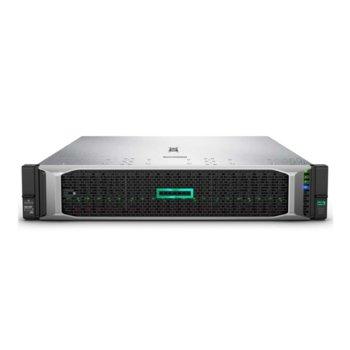Сървър HPE DL380 G10 (P06420-B21), осемядрен Intel® Xeon® Scalable 4110 2.1GHz, 16GB DDR4 RDIMM, 4x 1GbE, 5x USB 3.0, HPE 500W захранване image