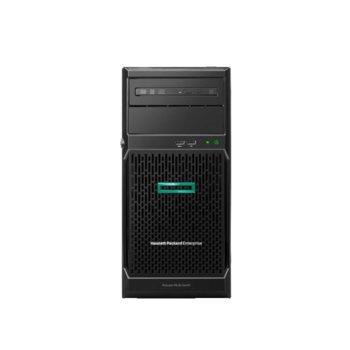 Сървър HPE ML30 G10 (P16930-421), четириядрен Coffee Lake Intel Xeon E-2224 3.4/4.6 GHz, 16GB DDR4 UDIMM, без твърд диск, 2x 1 Gb LOM, 6x USB 3.0, без ОС, 1x 500W image