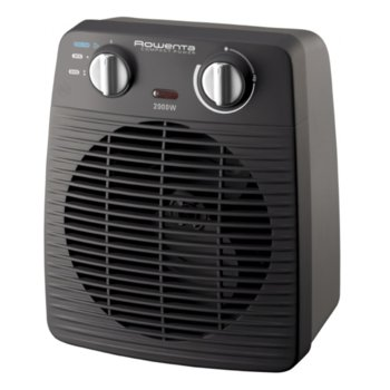 Вентилаторна печка Rowenta S02210F0, терморегулатор, безшумен режим, 2000W, черна image