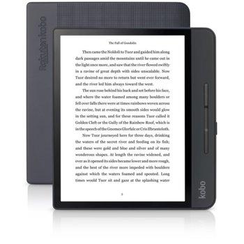 "Електронна книга Kobo Forma, 8.0"" (20.32 cm), E Ink Carta дисплей, 8GB Flash памет, Wi-Fi, Черна image"