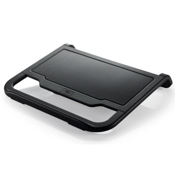 "Охлаждаща поставка за лаптоп DeepCool N200, за лаптопи до 15.6"" (39.62 cm), 120mm вентилатор, черна image"