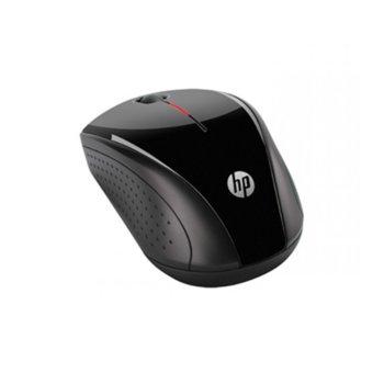 Мишка HP X3000 (H2C22AA), безжична, черна, USB image