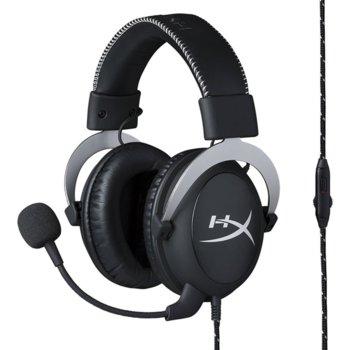 Слушалки Kingston HyperX Cloud, микрофон, черни image