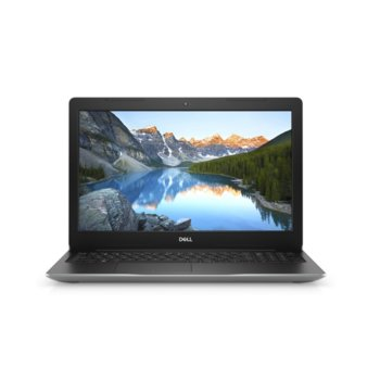 "Лаптоп Dell Inspiron 3593 (5397184440209)(сребрист), четириядрен Ice Lake Intel Core i5-1035G1 1.0/3.6 GHz, 15.6"" ( 39.62 cm) Full HD Anti-Glare Display & GF MX230 2GB, (HDMI), 4GB DDR4, 1TB HDD, 1x USB 3.1 Gen 1 Type-C, No OS image"