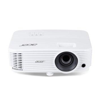 Проектор Acer P1350WB, DLP, WXGA (1280 x 800), 20 000:1, 3700 lm, 2x HDMI, 2x VGA, USB, AUX, LAN  image