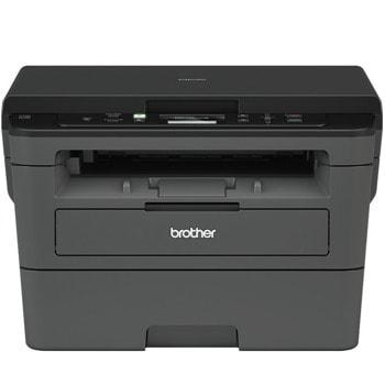 Мултифункционално лазерно устройство Brother DCPL2532DW, монохромен принтер/копир/скенер, 2400 x 600 dpi, 30 стр/мин, Wi-Fi, USB, A4  image