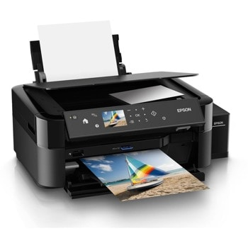 Мултифункционално мастиленоструйно устройство Epson L850, цветен принтер/скенер/копир, 5760x1440dpi, 5 стр/мин, USB, A4 image