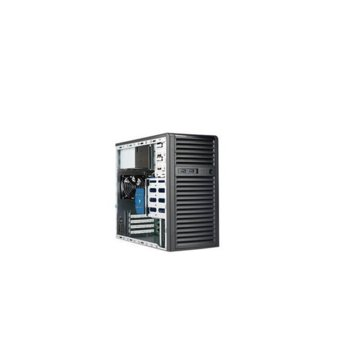 Сървър Supermicro AS-5039C-I-OTO-7, четириядрен Coffee Lake Intel Xeon E-2224 3.4/4.6 GHz, 8GB DDR4 UDIMM, 480GB SSD, 2x 1GbE, без ОС, 400W PSU image